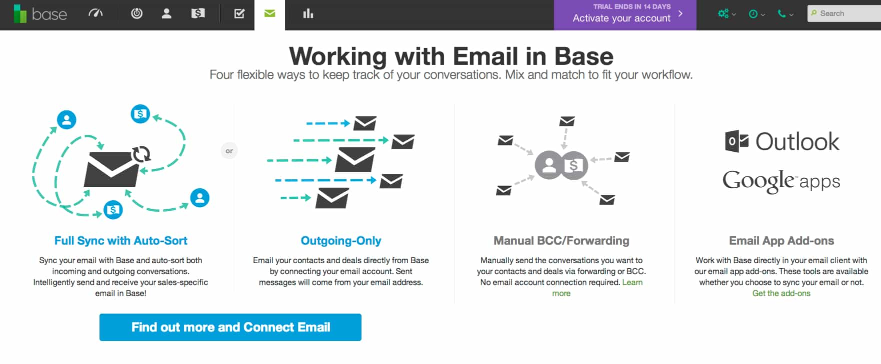 Base CRM Email